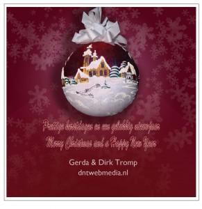 Christmas card/Kerstkaart